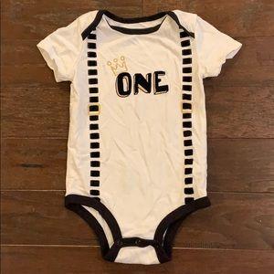 3 items/ $15 - First Birthday Bodysuit Onesie
